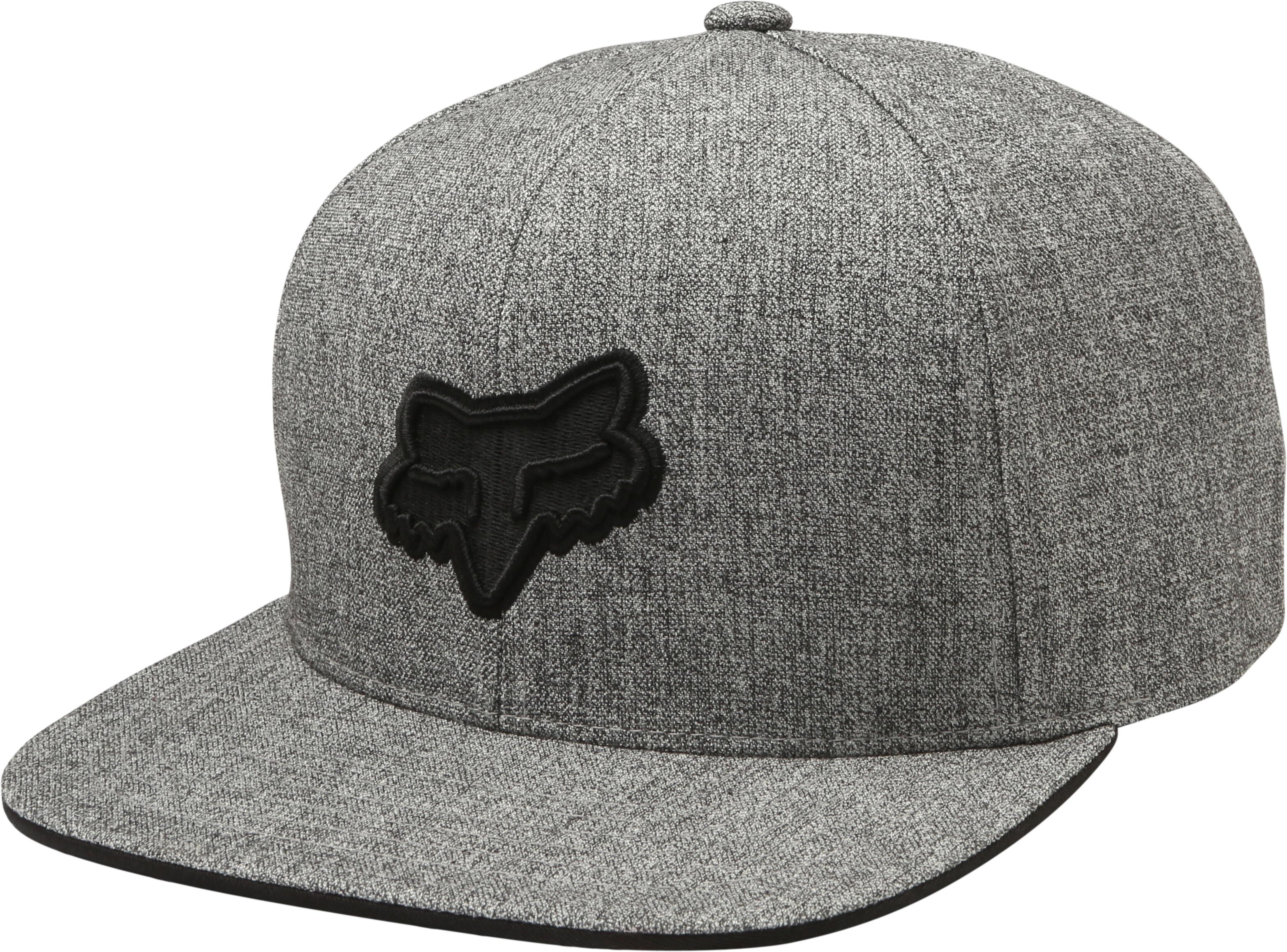357de1923ff5b Fox Legacy Snapback Hat - Heather Grey £22.00